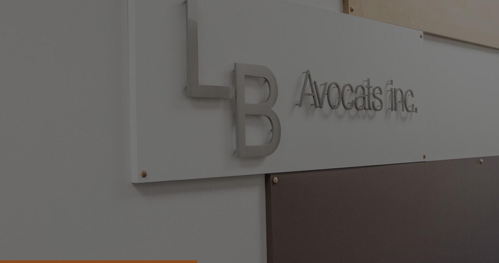 Cabinet davocats Avocats LB Avocats Cowansville prs de Granby